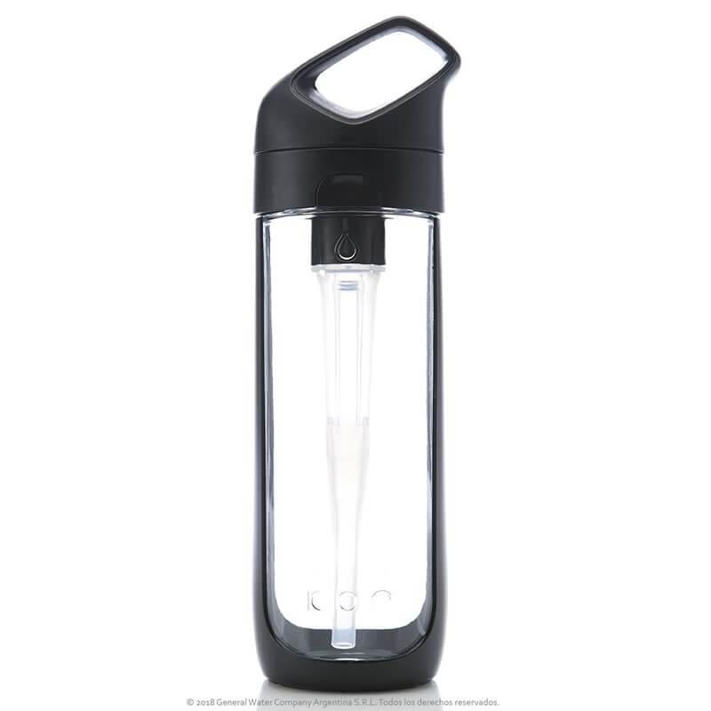Botella de Hidratación Hidrolit Kor Sport color Onyx - Frente