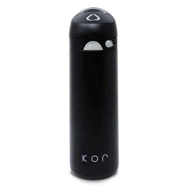 Botella para agua fría y caliente Hidrolit Kor Devi color Onyx - Frente