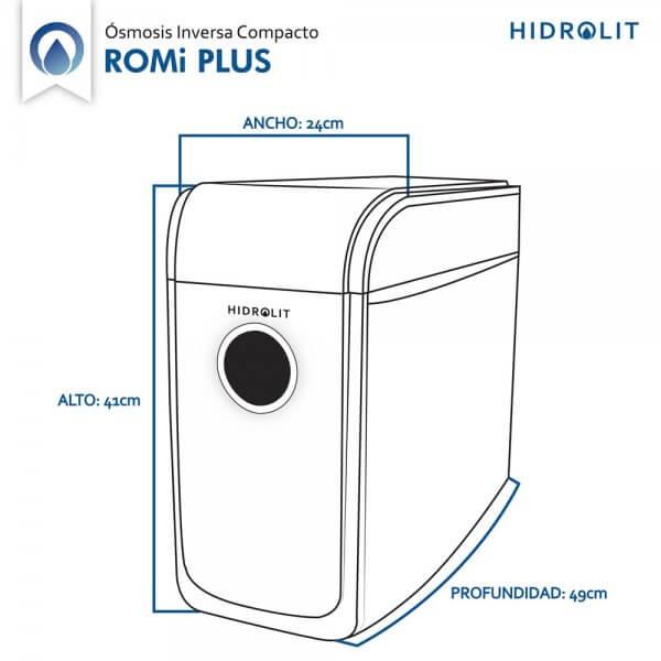 Medidas Osmosis Inversa ROMi Plus Hidrolit