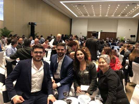Reunión con la Honorable Comitiva del Aquatech Trade